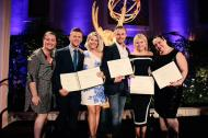 """Emmys nominated choreographers received their certificates!"" - August 30, 2015 Courtesy TelevisionAcad twitter"